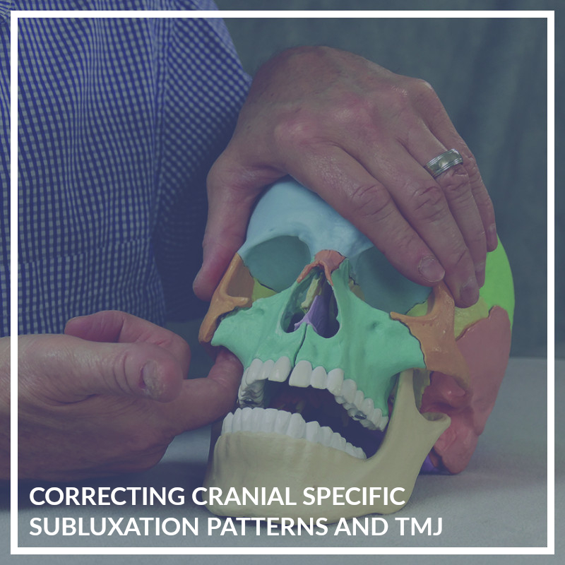 Correcting Individual Cranial Bone Imbalances (intra-oral) and TMD Patterns