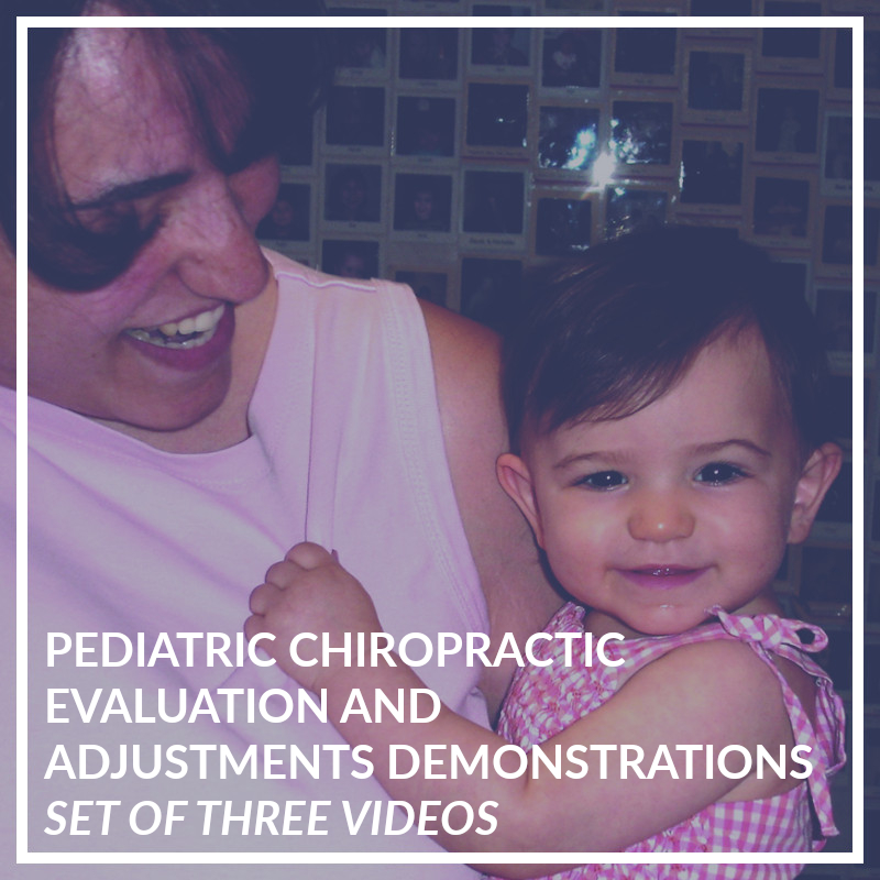 Set of Three Pediatric Demonstration DVDs